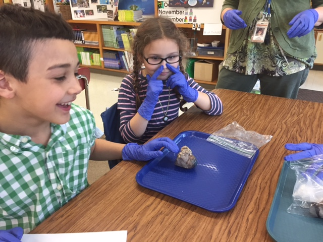 IPEI grants create hands-on (and sometimes smelly!)  learning!