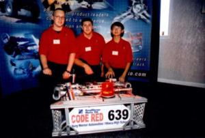 Yan Wang and Code Red Robotics Team